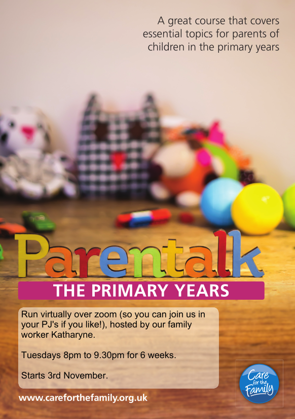Parentalk flyer